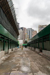 Where have the buidlings gone (Keith Mulcahy) Tags: people hongkong kowloon kwuntong urbanredevelopment may2014 keithmulcahy blackcygnusphotography ppa7a0 ppd56c