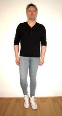 Super Spray On 3 (Scott Martin.) Tags: gay jeans converse tight skintight sprayon skintightjeans superspray
