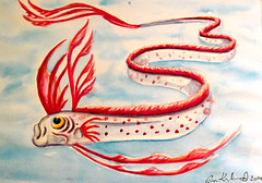 herring king oarfish Regalecus glesne (Villa Ylle) Tags: life sea fish art monster king villa herring oarfish ylle glesne regalecus villaylle