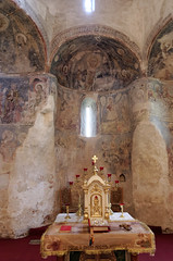Gernyi krtemplom (rotunda) (kgyd) Tags: rotunda templom krptalja fresk krtemplom gerny
