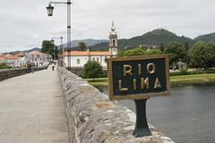 On the Ponte de Lima. (Flitshans) Tags: portugal de lima ponte