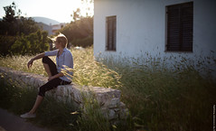 Golden hour (paul.wienerroither) Tags: travel light green nature girl canon photography 50mm lights view