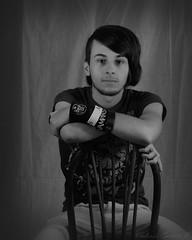 Josh (shutterbugg011) Tags: boy portrait white black guy druding