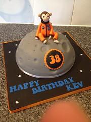 Monkey on the Moon Cake