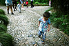 Little Steps (Sam Gu Wang) Tags: china street apple mobile walking photography kid child phone shanghai little cell 中国 上海 iphone 5s 手机 苹果