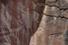 Petroglyph with HDR, Nine Mine Canyon, Utah (walkerross42) Tags: utah hdr rockart petroglyphs anthropomorph ninemilecanyon
