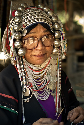 Long Neck Village Woman III