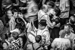 Kocherlball 2014 (V) (manuela.martin) Tags: blackandwhite munich münchen englischergarten chinesischerturm kocherlball peoplephotography foreignpeople schwarzundweis