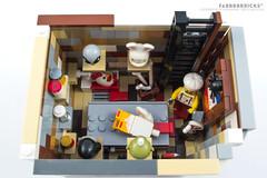 B5006   L'Apparenza Inganna (Top) (Fabbbbbricks™) Tags: restaurant lego contest vignette parisian moc vignetta 10243 parisianrestaurant itlug fabbbbbricks