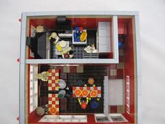 The Red Brick Pizza Oven - Godwins Hollow (Godwins in Kuwait) Tags: lego pizza modular pizzeria moc legocity modularbuilding sycamorerd southsidedr godwinshollow redbrickpizzaoven
