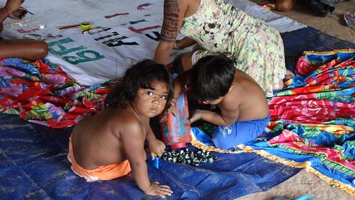 Copa da Leitura e da Alegria com a Barca das Letras na Aldeia Itaputyr Tembé Tenetehar(Santa Luzia do Pará/PA)