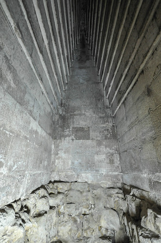 Massive corbel-vaulted ceiling of the Red Pyramid's Main burial chamber
