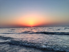 Today sunset (ix_vengifor) Tags: sunset beach beautiful wonderful amazing superb awesome peaceful serenity lovely refreshing kuwaitcity greatmoment