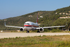 Meridiana Boeing 737 taxies for take off at Skiathos. (Martyn Cartledge / www.aspphotography.net) Tags: uk plane airplane greek fly flying airport europe aircraft aviation air transport flight jet aeroplane greece airline boeing runway skiathos airliner martyn meridiana aerodrome b737 boeing737 jsi cartledge civilairliner civilairline aspphotography skiathios eifds