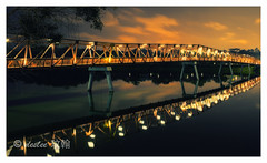 Reflections (deslee74) Tags: bridge reflection night yahoo google nikon singapore flickr punggol 24mm d800 bestcapturesaoi