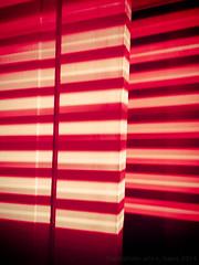 2014 365 arlophotochallenge 194-365 - tier (Arlo Bates) Tags: door light canada abstract lines lights winnipeg manitoba walkabout blinds tier digitalcrossprocessing postedtoflickr nexus5 googlenexus5 2014365photoproject