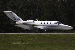 EC-LDE Cessna 525 SCQ (Bene Riobó) Tags: citationjet lest scq cessna525 cessna525citationjet1 cessna525citationjetcj1 eclde