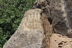 The petroglyphs of Qobustan (10b travelling / Carsten ten Brink) Tags: sea art rock asia europe baku azerbaijan caucasus petroglyph azeri sovietunion ussr eurasia pictograph kaukasus baki qobustan 2013 bakı azerbaycan carstentenbrink