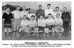 Trent Motors FC - Season 1949-50 (qay73xse) Tags: bygones derby football trentmotors 1948 1949