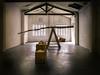 Balance (Paco CT) Tags: red performance sculpture indoor window light decadence pacoct 2017 balance lhospitaletdellobregat esp spain barcelona