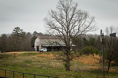 Barn & Farm - Oconee Co., S.C. (DT's Photo Site - Anderson S.C.) Tags: canon 6d 24105mml lens westminster oconee southcarolina old rural country road farm barn windmill pastoral southern vanishing america upstate landscape southernlife pasture