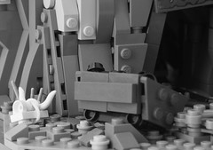 Forsaken (teaser) (W. Navarre) Tags: lego cowboy mine teaser surprise moc skull cow shaft cart