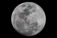 ISS Transit of the Moon (James Boone) Tags: 2017 esa europeanspaceagency february florida fullmoon gibbous internationalspacestation iss jamesboone jamesboonephoto jaxa lightroom moon nikon oldboone orlando science space spacestation transit waxinggibbous winter roscosmos