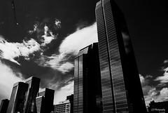 Better days ahead (.KiLTRo.) Tags: calgary alberta canada kiltro city skyline sky building architecture clouds urban light shadow contrast wideangle