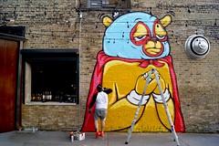 JC Rivera #brokenenglish #tacopub (drew*in*chicago) Tags: tacopub chicago 2017 restaurant jc rivera talented artist street art graffiti wrigleyville