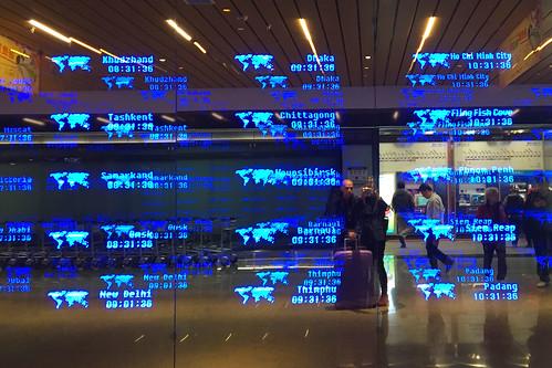 World Clock - Taipei Airport
