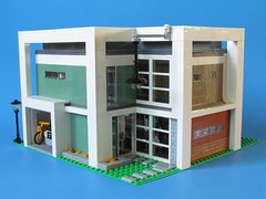 Modern House (IceCreamManatee) Tags: lego modern house architecture design home living minifigure minifig scale