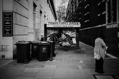 (DeepSane) Tags: london fruitstand batman oldwoman garbagebins streetphotography