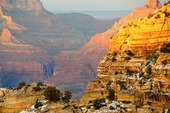 Grand Canyon 105 (Krasivaya Liza) Tags: grandcanyon grand canyon national park canyons nature natural wonder az arizona holiday christmas 2016 snowy winter cliffs cliffside edgeofcliff