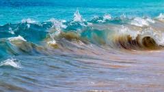 Be like water, my friend. (Si Strand) Tags: pacific ocean waves bigbeach hawaii maui