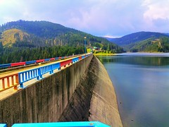 Lake Bolboci dam (Sergiu St. O.) Tags: dam rezervoir buceginaturalrezervation dambovitacounty romania
