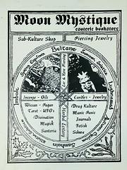 Moon Mystique bookstore (Mongo X) Tags: moonmystique esotericbookstore occultbookstore chicagodarkarts darkarts chicagounderground
