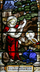 Easter Tuesday (Lawrence OP) Tags: biblical resurrection stainedglass marymagdalene jesuschrist risen lord rabboni easter gonvillecaius cambridge college