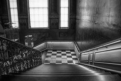 Kensington Palace (cuppyuppycake) Tags: kensington palace hyde park london uk england stair case staircase checkered stairs light steps