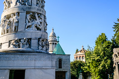 Cimitero monumentale -024227 (diegocurioso) Tags: milano milan mailand cimitero cemetery monumentale monumenti scorci outdoor