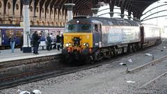 DRS Class 57 At York (Uktransportvideos82) Tags: drs directrailservices northernbelle
