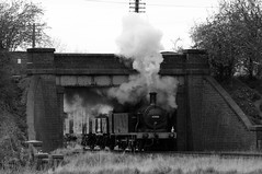 GCR 52286bw (kgvuk) Tags: gcr greatcentralrailway railways train steamtrain locomotive steamlocomotive jinty 47406 060t lms3f tankengine woodthorpe