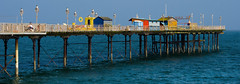 Teignmouth Pier (Ken Came) Tags: teignmouth dorset pier jetty huts sea seaside nikon d7000 kencame