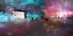 Bambies on sunset bath (eve.studio (Noke Yuitza)) Tags: bambie plastik art installation fantasy fantasyfair shinyshabby