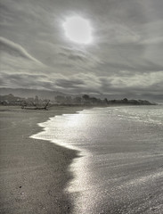 Moody morning at Chetco Cove Beach (Laurie4593) Tags: chetcocove brookings oregon coast beach southernoregon sand clouds sun morning waves water moody pacific landscapesseascapescityscapes seascape ocean sea coastal coastline westcoast canonrebelt3i