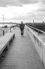 Leading Lines (alsib) Tags: outdoor lines pavement boardwalk kentcoast margate blackandwhite acros monochrome