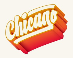 Instagram Stickers — Chicago (Kyle J. Letendre) Tags: lettering instagram chicago sticker graphic design illustration hot dog chicagodog millennium park lincoln lakeview south side dimensional dimension type typography letter