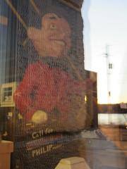 American Pickers (6 of 7) (jimsawthat) Tags: throughtheglass interior smalltown antique iowa leclaire americanpickers tv