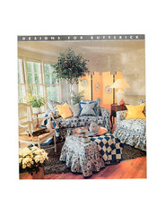 Butterick 4592 sewing pattern (FindCraftyPatterns) Tags: furniturecover homedecor sewingpattern butterick4592 slipcover sofa couch chair ottoman footstool livingfamilyroom uncut