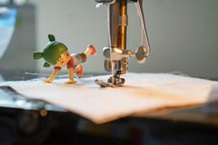 Little sewing helper (omgdolls) Tags: yotsuba よつば
