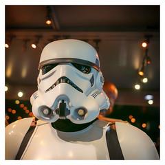 Stormtrooper (Gretsch*) Tags: london londres angleterre england leicam240 leicasummicron35mmf20asph starwars starwarsidentitiesexhibition o2london leicamptyp240